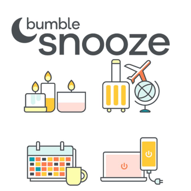 Bumble Snooze mode