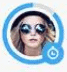 Bumble Blue Circle meaning
