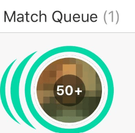 Bumble Blurred Matches