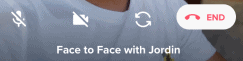 Tinder Face to Face Video Call