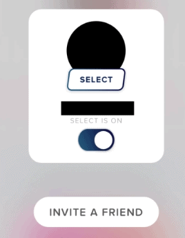 Tinder Select Invite a Friend